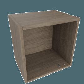 Bennet 1-Door Cabinet, Brown