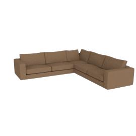 Reid Corner Sectional in Fabric