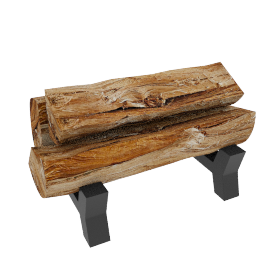Naomik Fire Log Holder