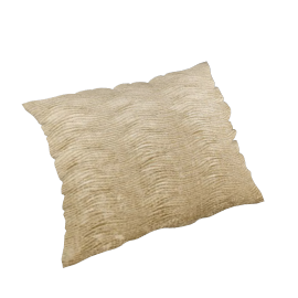Harlequin Arkona Velvet Cushion, Parchment