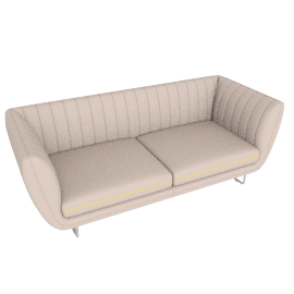 Lucca 3-seater Sofa