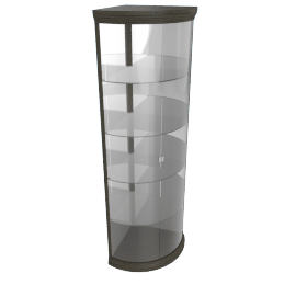 Brad Brenton 5-Shelf Corner Curio