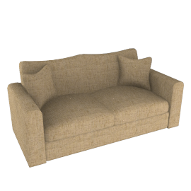 Umbria Large Sofa, Desert