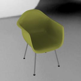Eames® Molded Plastic Armchair - DAX