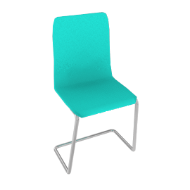 Ice Chair, Frosted Green