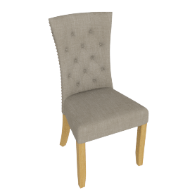Eden Dining Chair, Beige