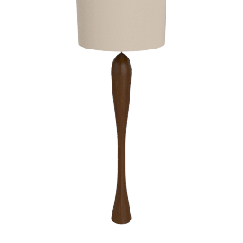Joanna Oak Floor Lamp