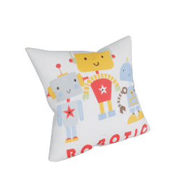 Robotic Cushion Cover - 45x45 cms