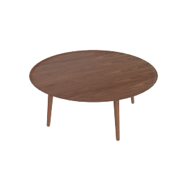 Edge Coffee Table, Walnut