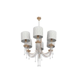 Reyleigh Dew 6-Lights Chandelier