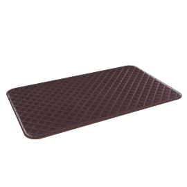 Diamond Mat - 45x75 cms, Brown