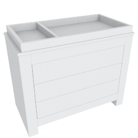 Little Sunshine Nursery Chest of Drawers with Changer