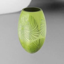 Olive Barrel Vase