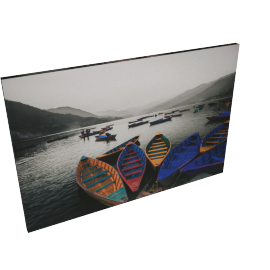 Country Boats Printed Wall Art