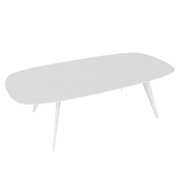 Solapa Coffee Table High, White