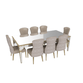Casablanca 8-Seater Dining Set