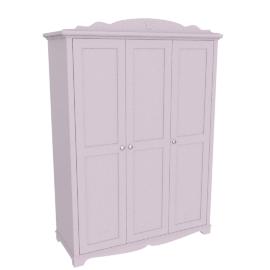 Isabelle 3 Doors Wardrobe