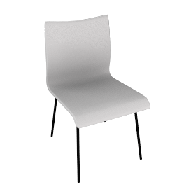 Iris Chair, White