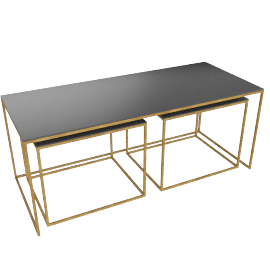 Conran Coffee Table and 2 Side Tables