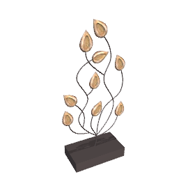 Leaf Stems Sculpture, H80cm