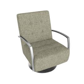 Sydney Chair, Harlequin Bind Onyx