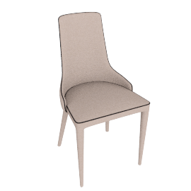 danform - MARS CHAIR, white
