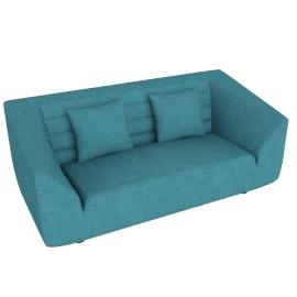 Octagon 2-seater Sofa