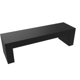 Vignelli Bench