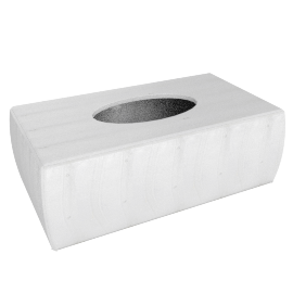 Blanc Doeuf Rectangle Tissue Box