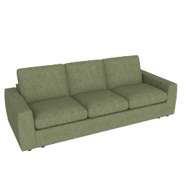 Finlay Grand Sofa, Quinn Blue Grey