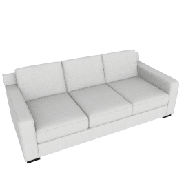 Porter 3-Seater Sofa, Light Beige
