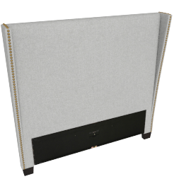 Stellar Gem Single Headboard, Grey