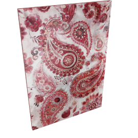 Paisleys Canvas with Sequins - 70x2.8x100 cms