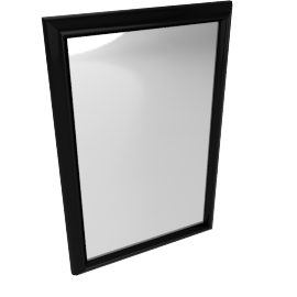 Cooper Framed Mirror, Brown