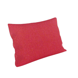 Maharam Pillow in Superweave 18'' x 26'', Orange.Pink