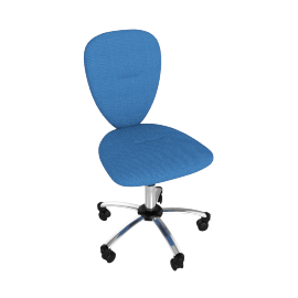 Ashley Desk Chair, Blue