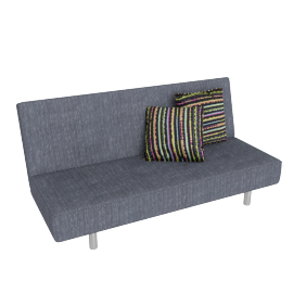Briano Sofa Bed Charcoal