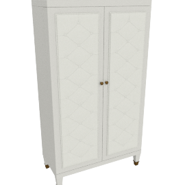 Prestige Bar Cabinet, Cream