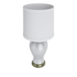VASE Table Lamp, White