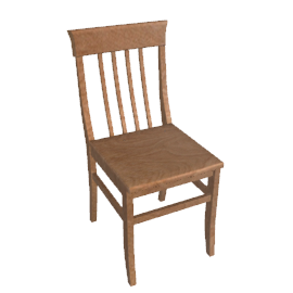 Quebec Dining Chair, Oak