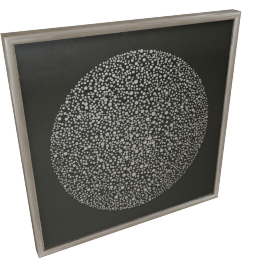 Glimmer Framed Art - 80x4.7x80 cms