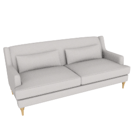 Berwick Large Sofa, Pier French Grey
