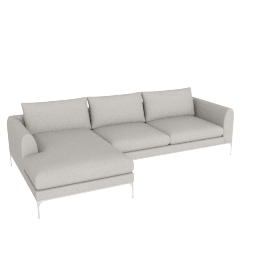 Jonas Sectional with Chaise, Maharam Mode Shell