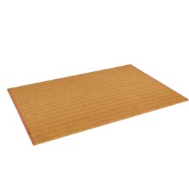Fish Scale Dhurrie - 60x90 cms, Orange
