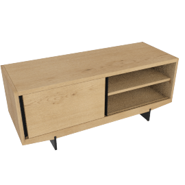 Ringo media unit, oak