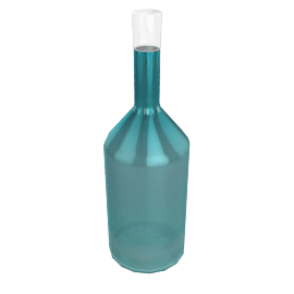 BOTTLE REGULAR TURQUOISE