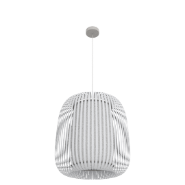 Polly large ceiling light, white