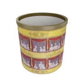 teatro paper basket by fornasetti