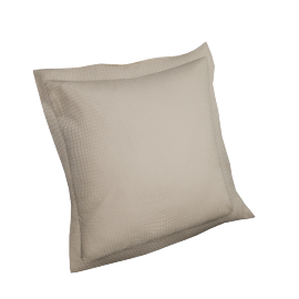 Indulgence 2-piece Cushion Cover Set - 45x45 cms, Brown