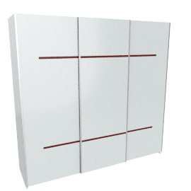 Aubrey 3-Door Sliding Wardrobe